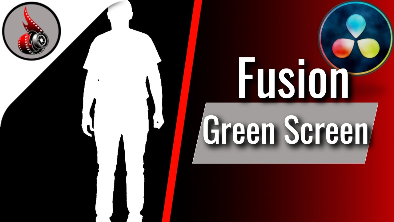 Green Screen mit DaVinci Resolve Fusion 16 - Green Screen entfernen