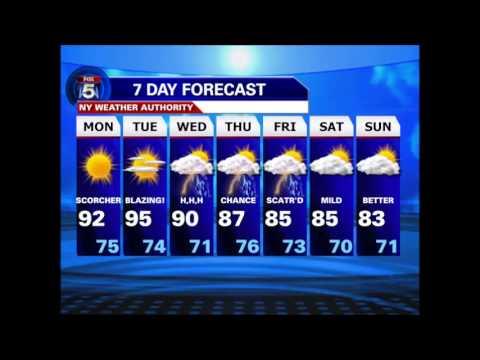 Weather Forecast ESL Listening Skills Practice