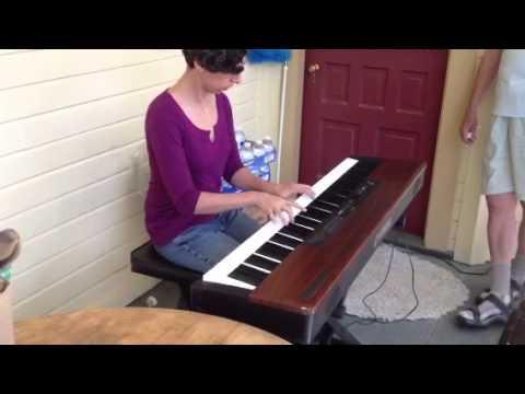 Larisa Migachyov plays her latest composition, The Blueberries of Métabetchouan