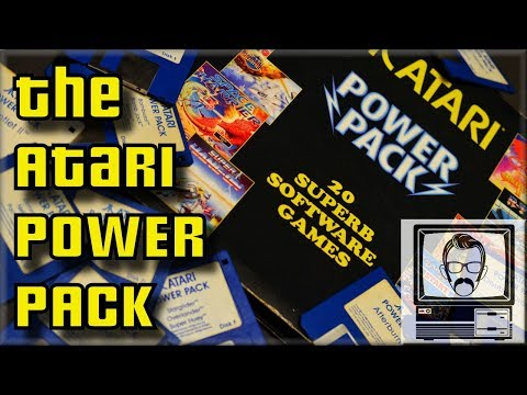 The Atari ST POWER PACK | Nostalgia Nerd