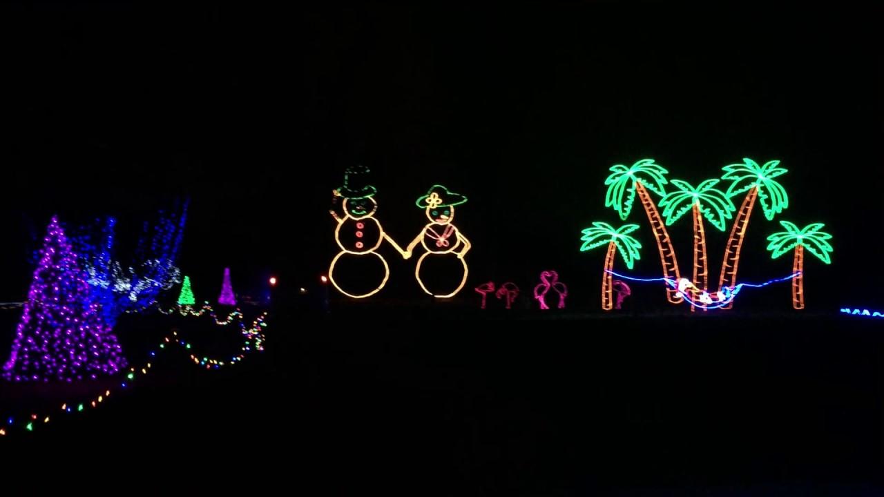 Longview Lake Lights Christmas 2016