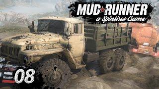 Spintires MudRunner | BERGUNG aus dem Wasser ► #8 Off-Road Simulator deutsch german
