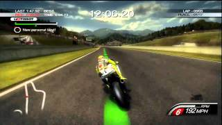 MotoGP 10/11 Gameplay - The DOCTOR!