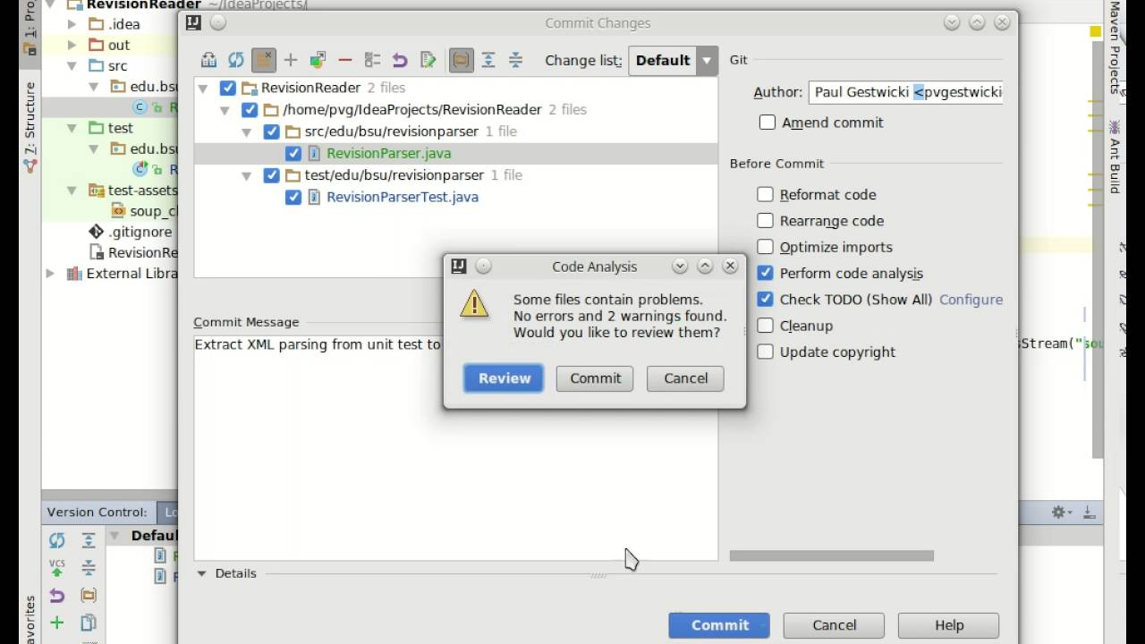 Introduction to Feature Branching using IntelliJ IDEA and git