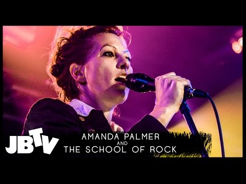 Amanda Palmer and The School of Rock - In My Mind | Live @ JBTV