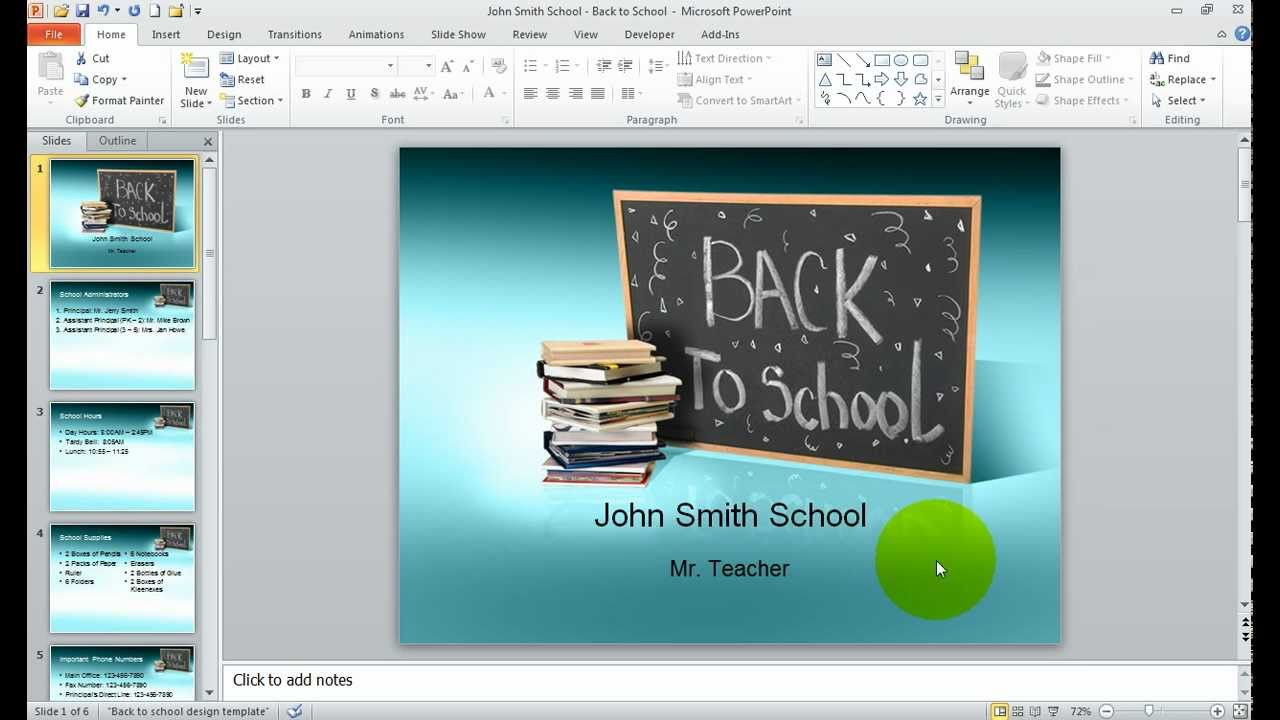 How To Build A School Orientation Presentation
