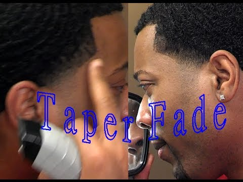How To Temple Taper Fade Yourself With Waves Youtube