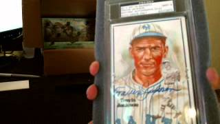 2013 Historic Autographs Art Of Baseball 10 Box Case Break