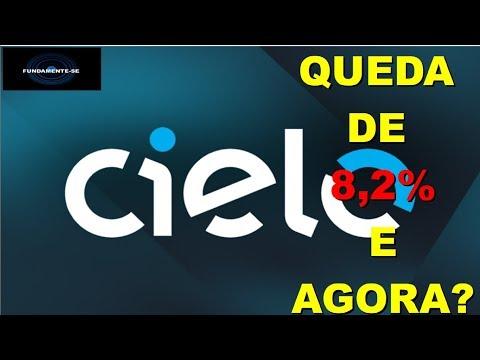 CIEL3 - CIELO CAI 8,2%, E AGORA????