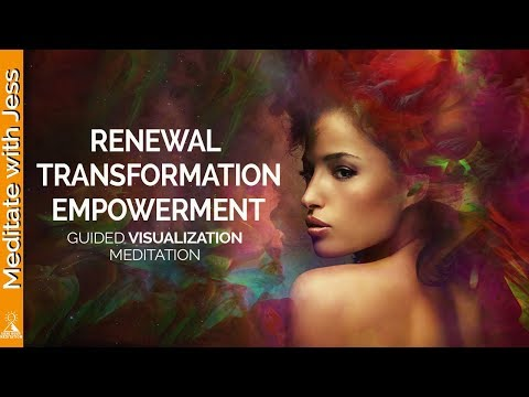 Guided Visualization for Renewal, Transformation & Empowerment - Journey to the Pyramid