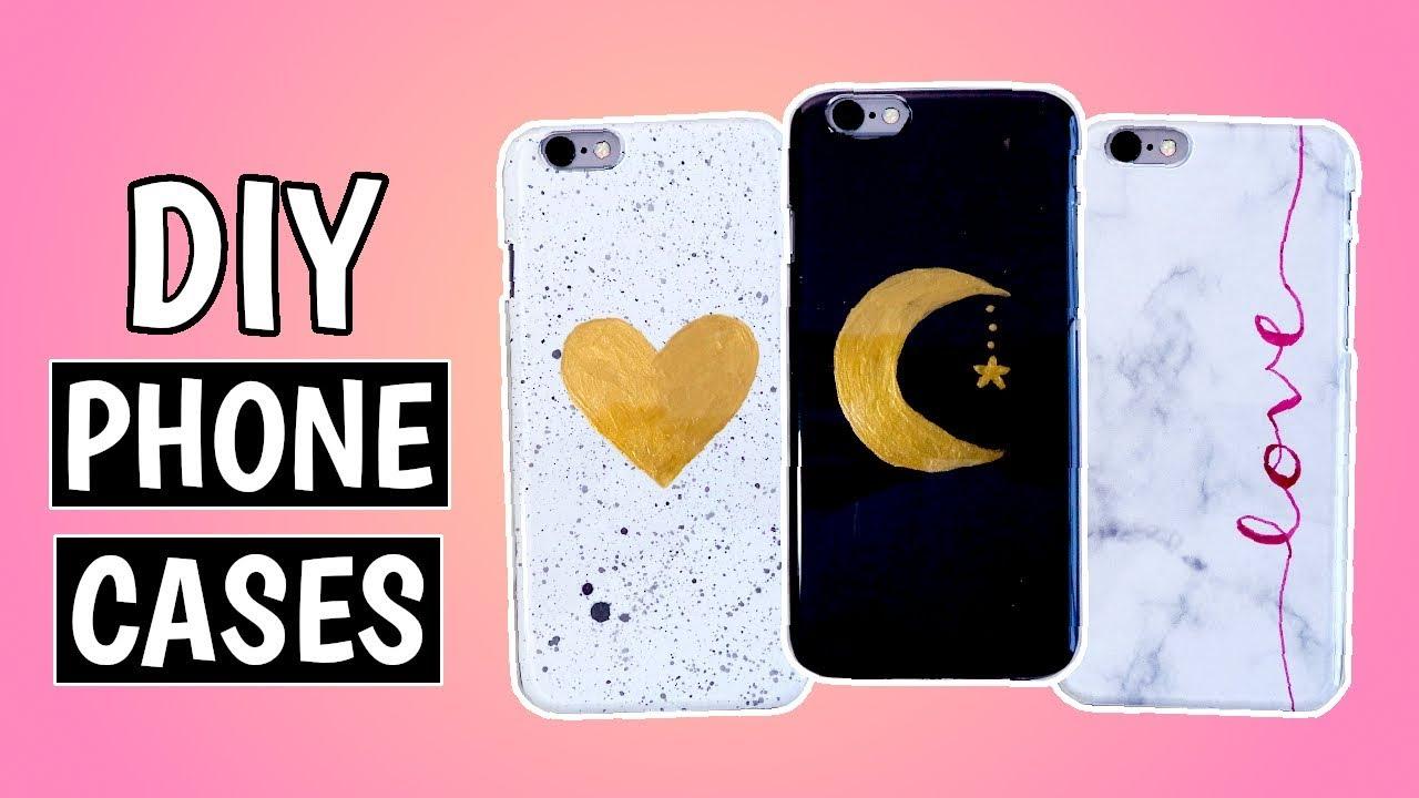 3 Easy Diy Tumblr Phone Case Ideas Pumpkin Emily