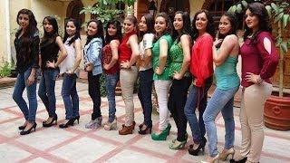 Candidatas Reina de la Feria Zacapoaxtla 2014 son Presentadas 24 03 14