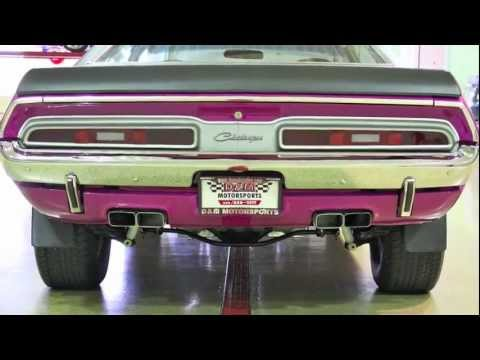 1971 Dodge Challenger RT--D&M Motorsports Video Walk Around Review 2012 Chris Moran