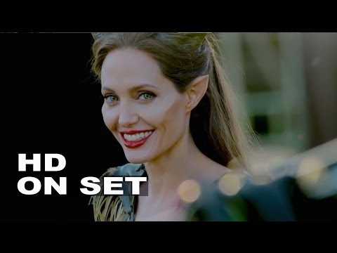 Maleficent: Behind the s Complete Broll  Angelina Jolie, Elle ning