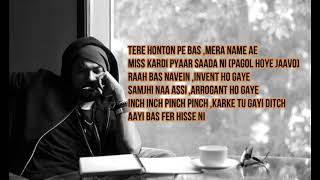 Pagol Lyrics|Bohemia&Deep jandu|new punjabi song 2019|by lyrics xposure
