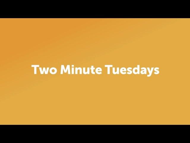 Two Minute Tuesdays - Risk Mindset Vs. Strategy Mindset