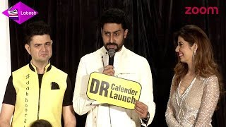 Abhishek Bachchan Is All Praises For Dabboo Ratnani At His 2018 Calendar Launch