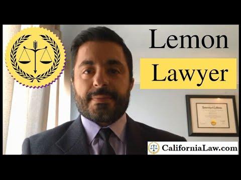 california lemon law