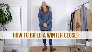 12 Pieces Every Guy Needs In His Winter Closet | Men's Winter Fashion Essentials