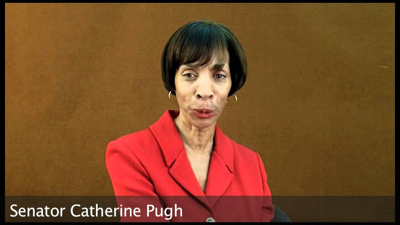 Senator Catherine Pugh's Announcement - YouTube