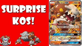 Heatran GX Gets Surprise KOs in the Pokemon TCG!