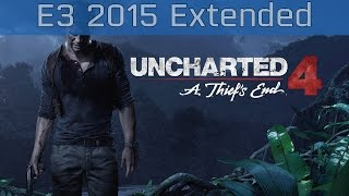 Uncharted 4: A Thief's End - E3 2015 Extended Gameplay [HD 1080P]