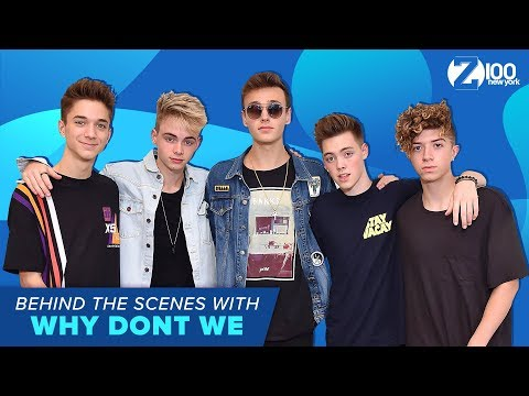 Behind the Scenes at Z100 with Why Dont We