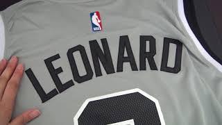 7064bd66 25 NBA San Antonio Spurs #2 Kawhi Leonard jersey unboxing-jerseys.ru review  ...