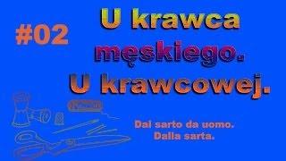 Corso di polacco-Dal sarto da uomo-Dalla sarta-