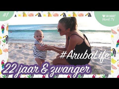 Natalie Vijfhuizen woont in Aruba met haar vriend en kindje Lola! | MommyVlog Natalie #1