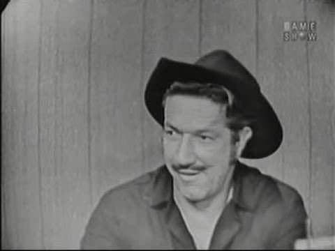 What's My Line?  Richard Boone; Van Heflin panel Jan 18, 1959
