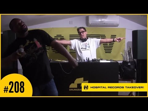 D&BTV Live #208 Hospital Records Takeover - London Elektricity