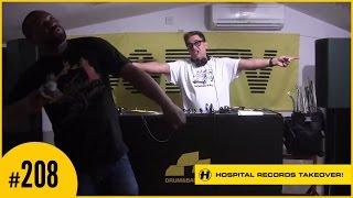 D&BTV Live #208 Hospital Records Takeover - London Elektricity