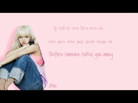 BLACKPINK  Whistle Lyrics 휘파람 HanRomEng Color Coded