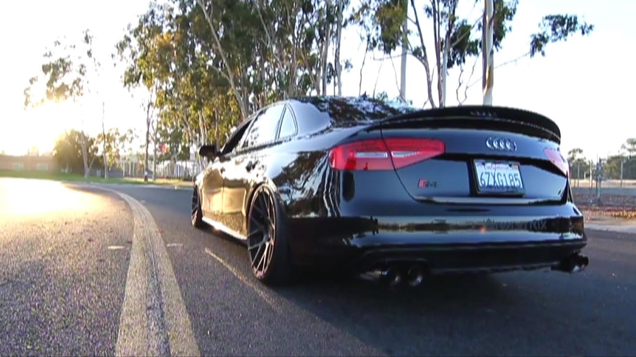 Insane Vader Audi S4 B8 5 3 0 V6t W Armytrix Cat Back Variable