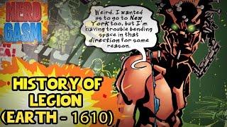 history of the ultimate marvel universe legion legion vs professor xavier