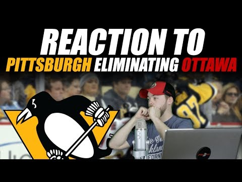 Reaction to Pittsburgh Eliminating Ottawa