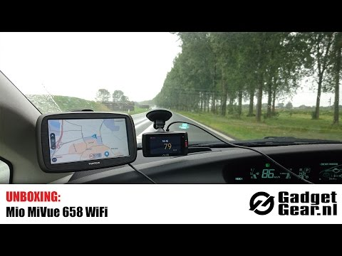 Unboxing: Mio MiVue 658 WiFi Dashcam