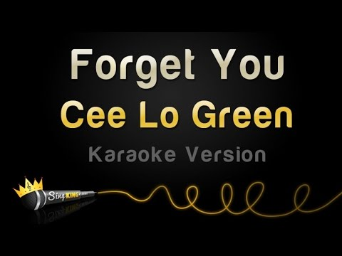 green fuck you Cee karaoke lo