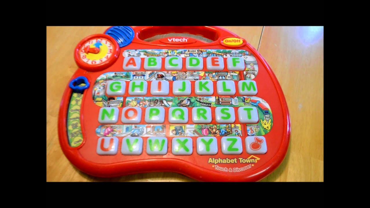 V-Tech Alphabet Town Touch & Discover - YouTube