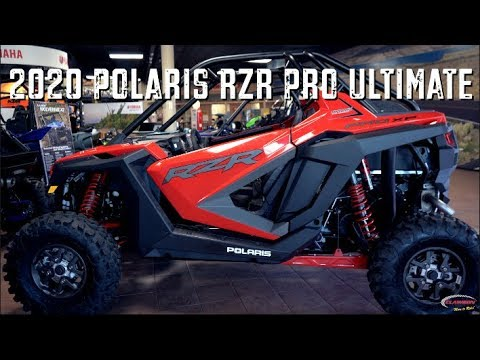 Motorsports Minute - First Look At The 2020 Polaris RZR Pro Ultimate |  Clawson Motorsports