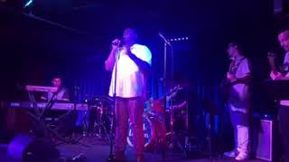 Alonzo Chadwick singing Man's World at Mother's Day Showcase (W/ Greaterkind Band)