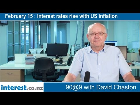 90 seconds @ 9am : Interest rates rise with US inflation