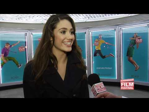 Chatting with Emmy Rossum