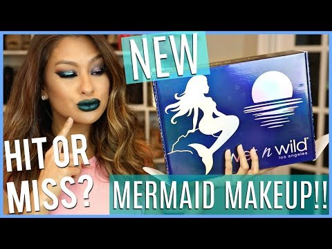 Mermaid Makeup NEW WET N WILD Collection TRY ON