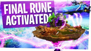 THE FINAL RUNE IS ACTIVATED & SECRET BATTLE BUS BUFF - Fortnite Updates