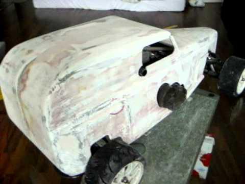 hot rod karosse 1 5 1 6 f r carbon fighter www modellbau. Black Bedroom Furniture Sets. Home Design Ideas