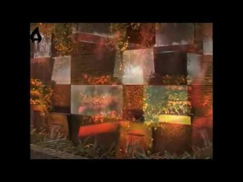 Parete d'acqua a cascata 2 - Atmosfere - YouTube
