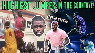He Made LeBron & Dwyane Wade LOSE THEIR MINDS! Malachi Wideman Is Trying The CRAZIEST Dunks Ever 👽