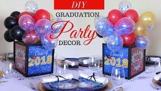 Super Easy & Affordable Graduation Party DecorationsS   Dollar Tree Graduation Ideas